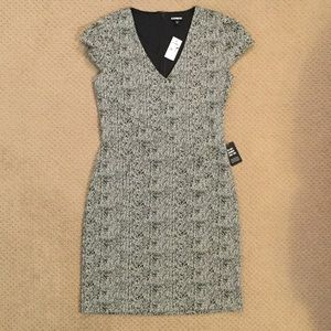 NWT EXPRESS Cap Sleeve Dress